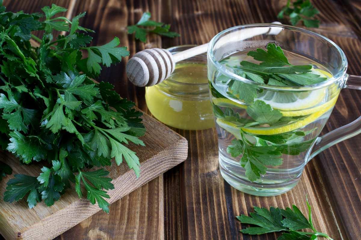 ¡El té de perejil limpia los riñones y se adelgaza! Recetas y como tomar