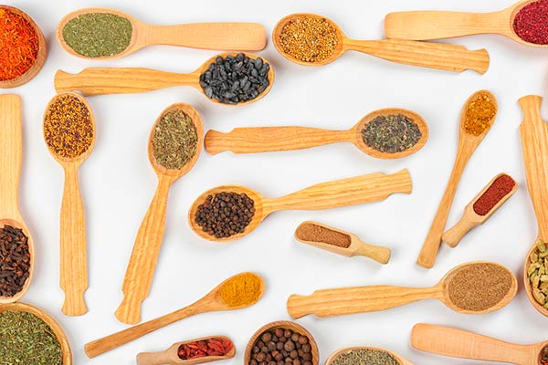 cucharas de curry