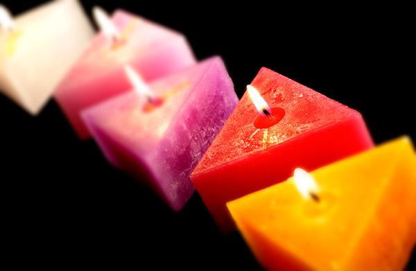 formas de velas