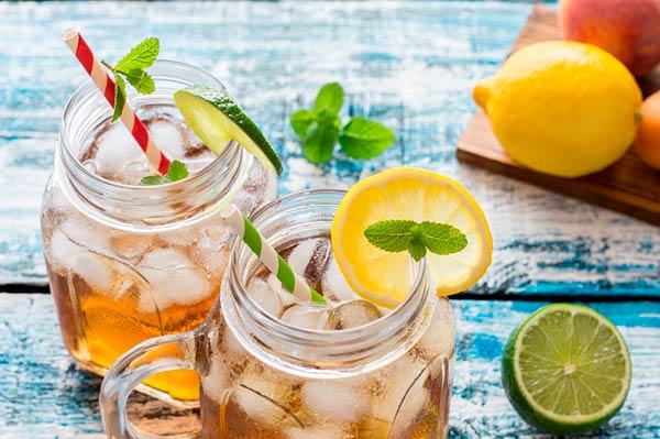 limonada té verde