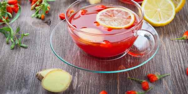 goji berry jengibre
