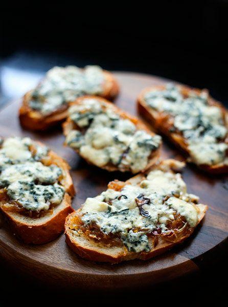 bruschetta de gorgonzola