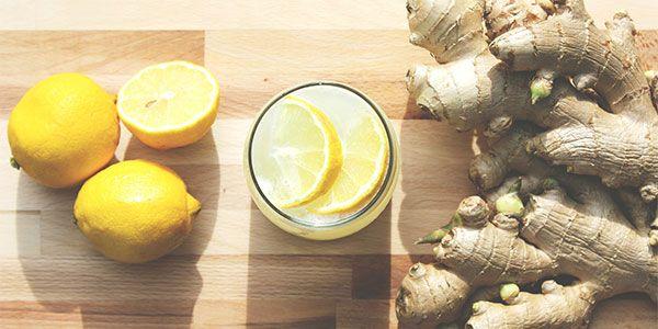 agua-desintoxicación-limón-jengibre