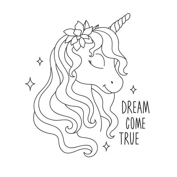 unicornio para colorear imágenes 2