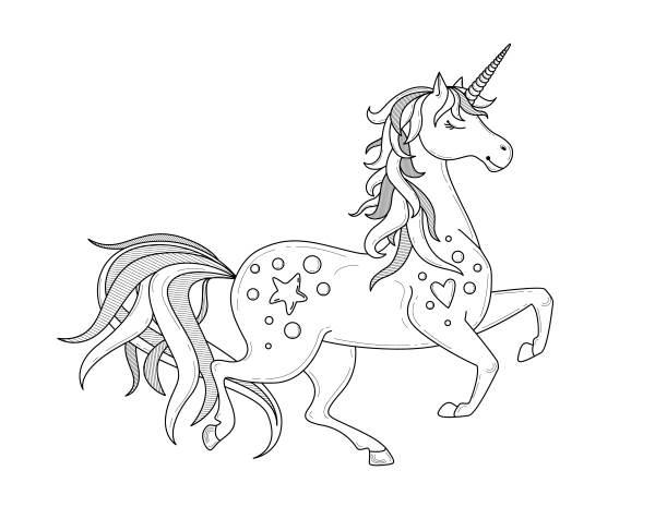 unicornio para colorear imágenes 6