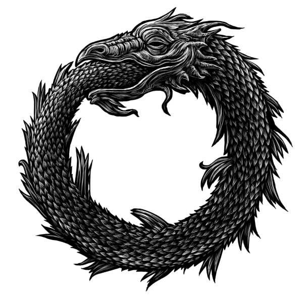dragón de ouroboros