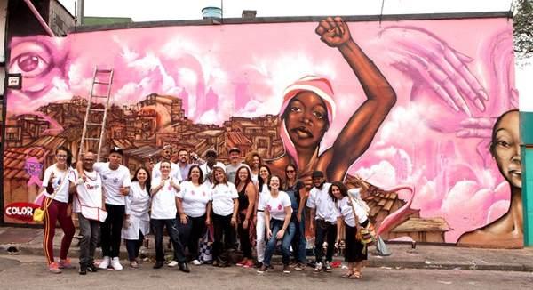 octubre rosa murales 2
