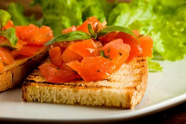 bruschetta de tomate original