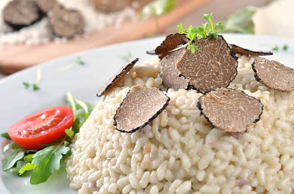 trufa de risotto