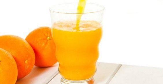 jugo de naranja y limon