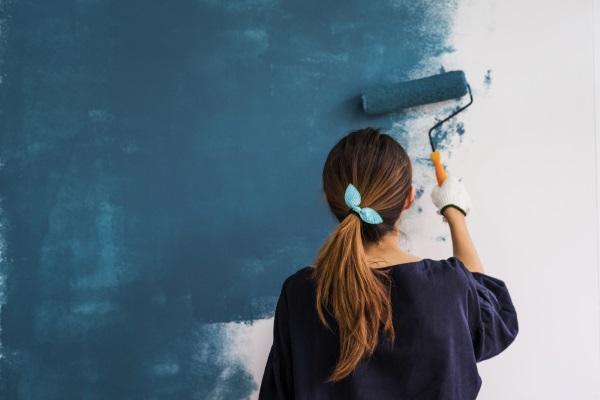 Hágalo usted mismo: cómo pintar la pared o la pared con cal