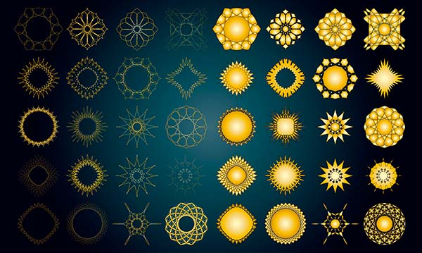 símbolos del sol