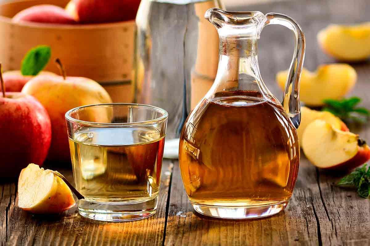 Vinagre de manzana → Mil beneficios para el cabello, la piel, la salud y más